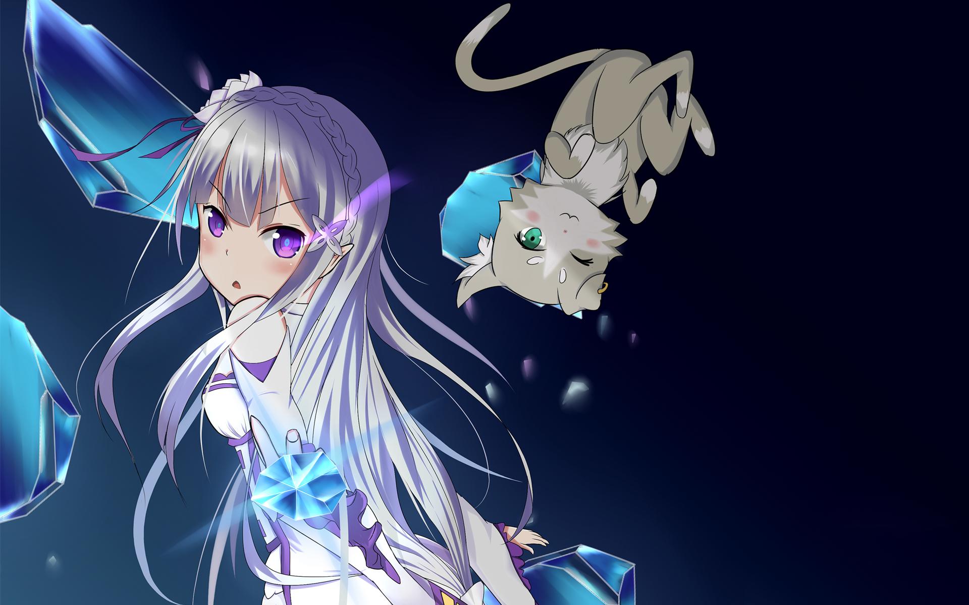 Anime ReZERO Starting Life In Another World Emilia (Re