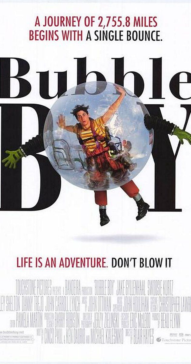 Directed By Blair Hayes With Jake Gyllenhaal Swoosie Kurtz Marley Shelton Danny Trejo A Young Man Who Was Born Wi Bubble Boy Movies For Boys Boys Posters