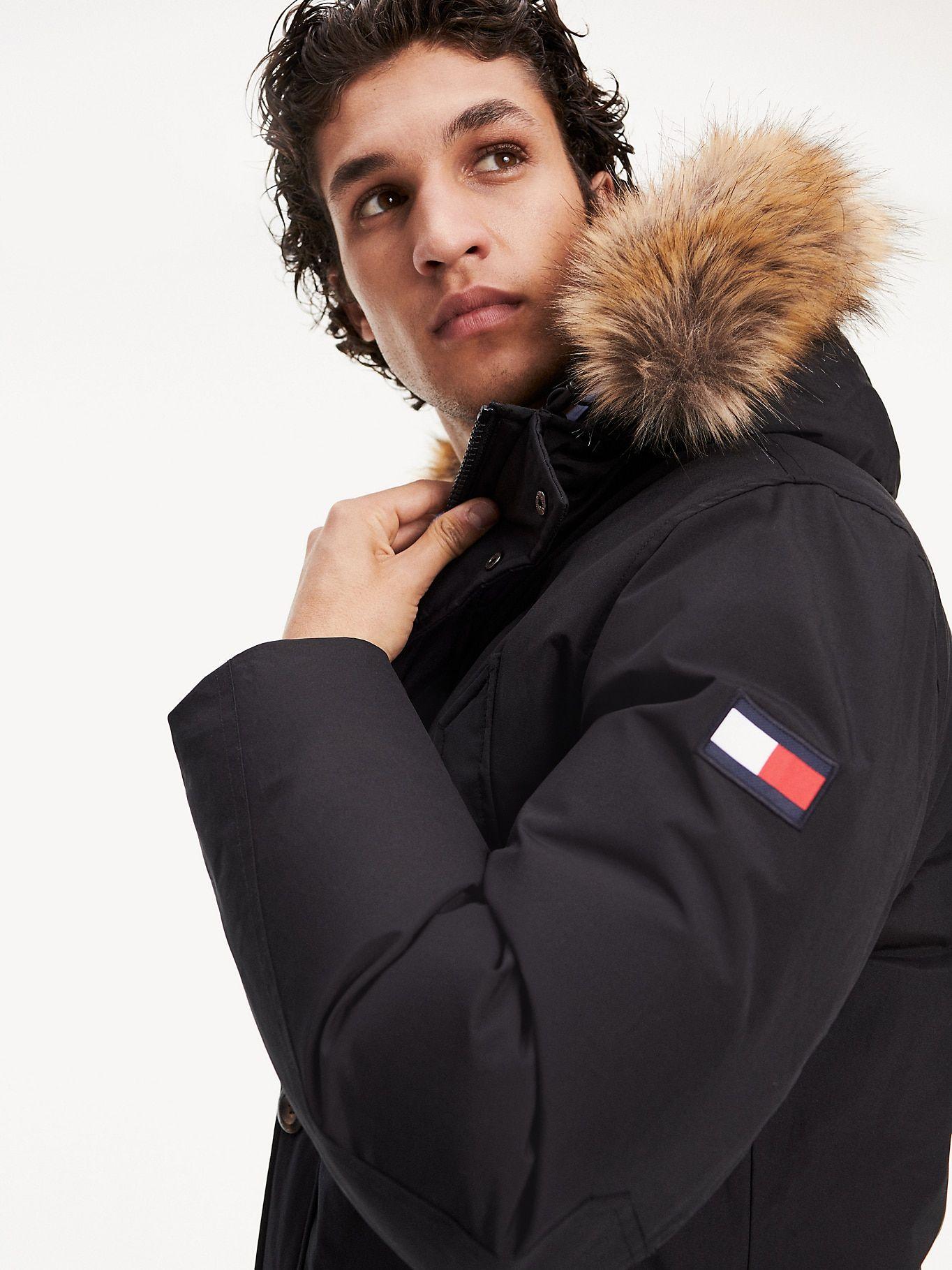 Down Filled Parka Sky Captain Tommy Hilfiger Tommy Hilfiger Outerwear Jackets Men S Coats Jackets [ 1819 x 1364 Pixel ]