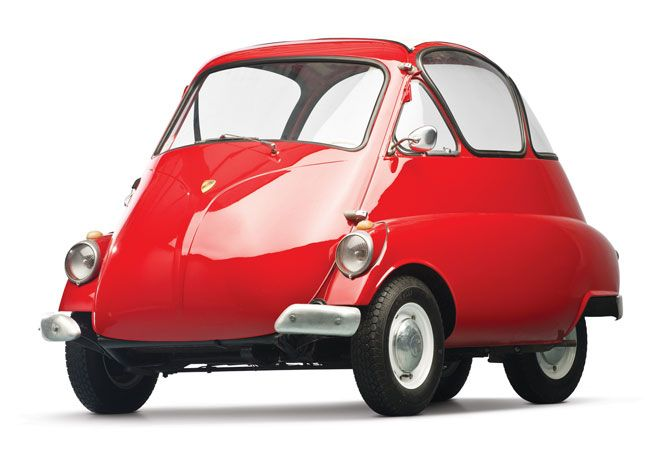 When The Iso Isetta Was Presented At Turins 1953 Auto Show Salone Dell Automobile It Caused A Great Commotion Egg Shaped Object Looking More Like
