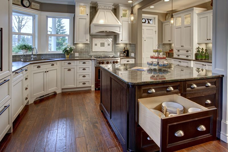 Center Island Designs For Kitchens Provanti Designsislandafter800  Kitchendining Room Project