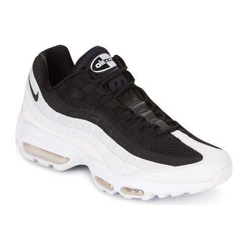 super popular 8f81a 90e9a Lave+sneakers+Nike+AIR+MAX+95+ULTRA+ESSENTIAL+Hvid+ +Sort+1359.00+kr