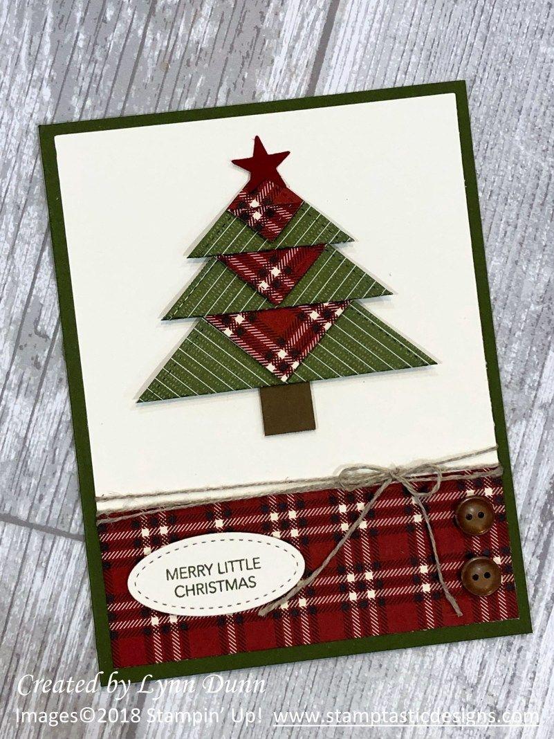 Christmas Tree Card Ideas | Lynn Dunn