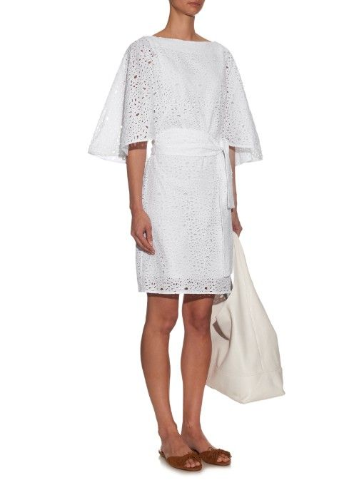 Osman Edita broderie-anglaise cotton dress