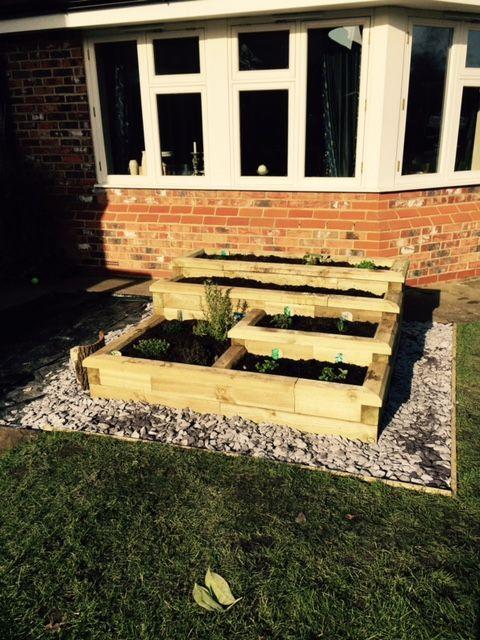 Stepped Herb Garden | Customers Projects | Pinterest | Herbs garden ...