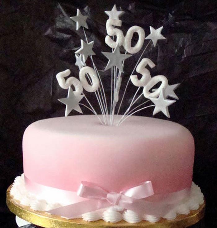 50th Birthday Cake Toppers 50th birthday cake ideas Dipacake