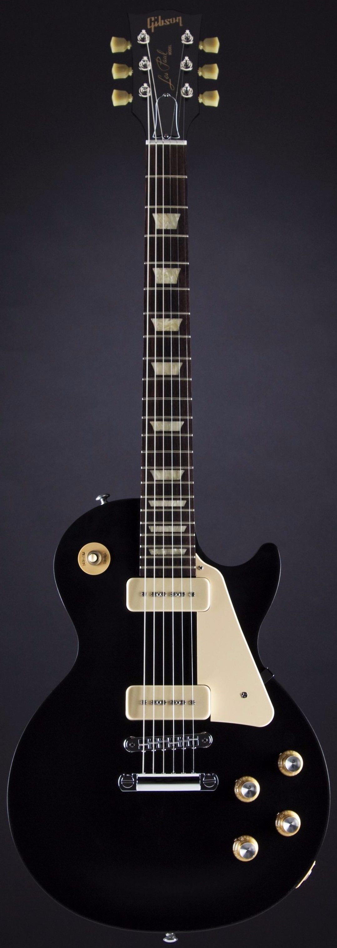 gibson les paul 60s tribute in satin ebony 2016 guitarras