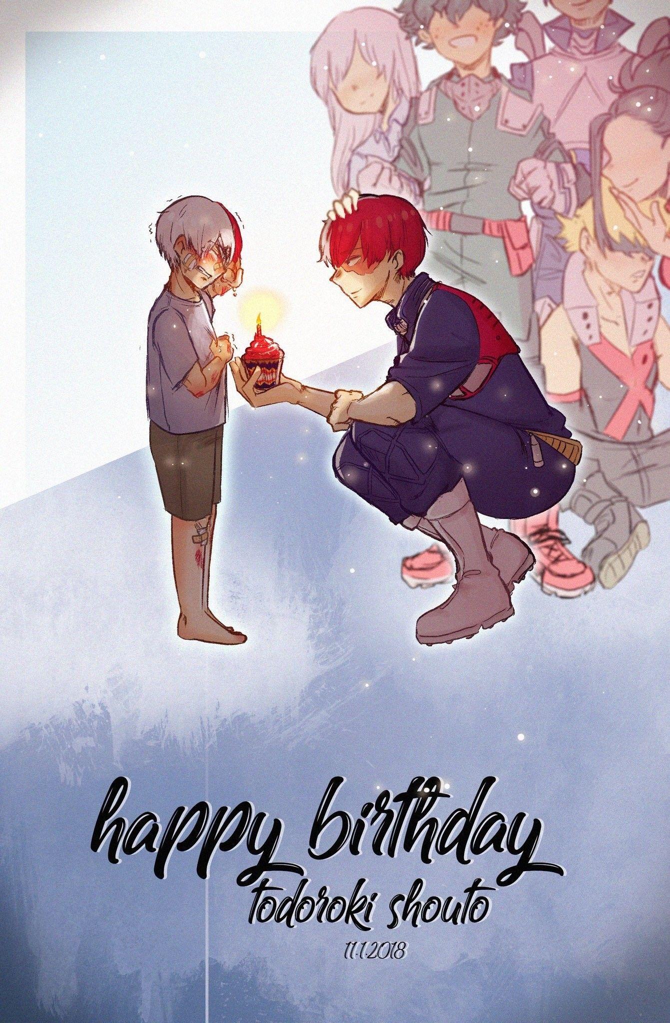 Todoroki Shouto's Birthday [1 11]♡ | HeroAca | My hero academia