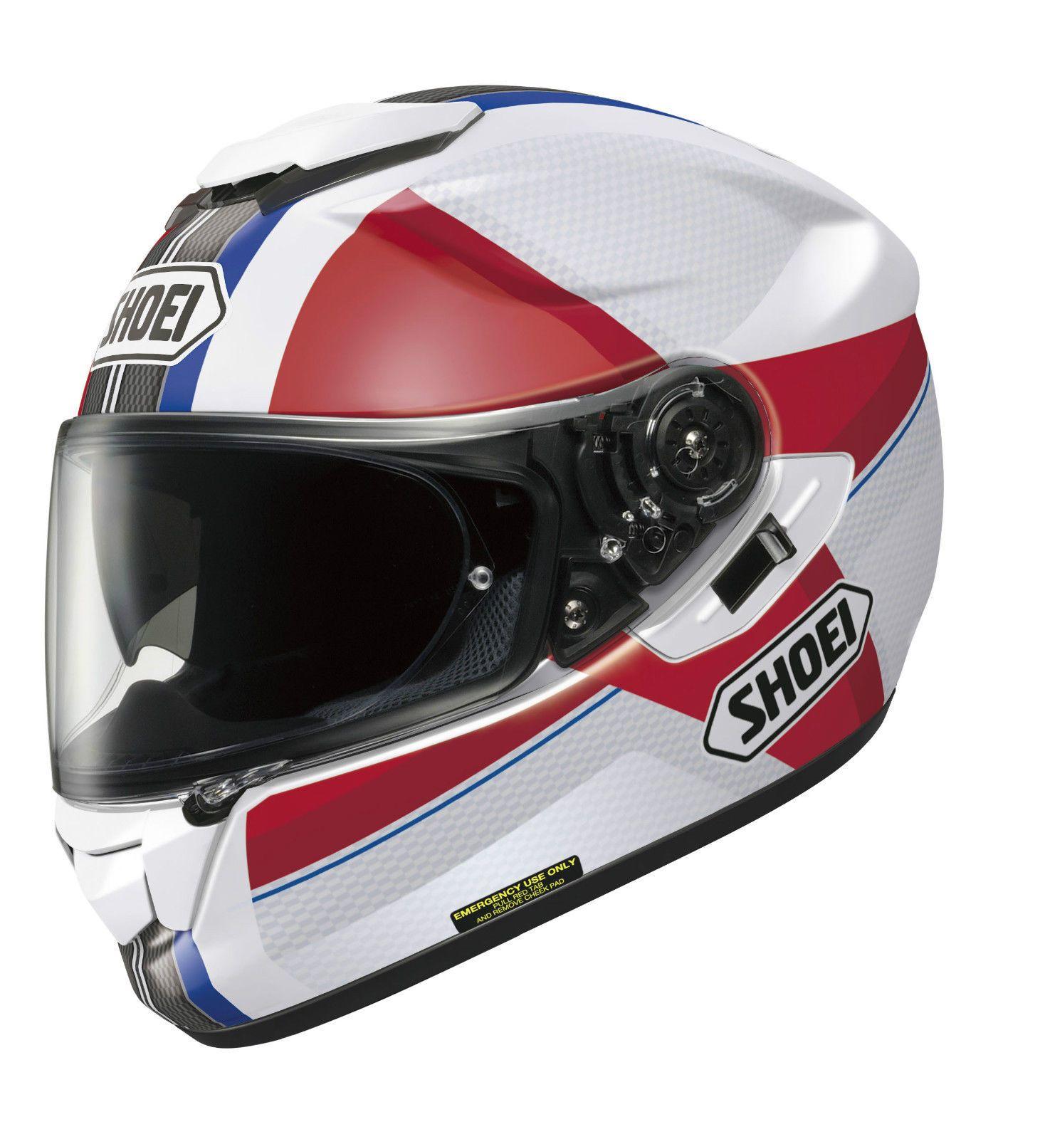 Shoei GT Air Exposure TC10 Tri Motorcycle Helmet S