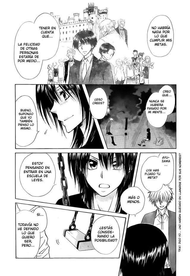 Página 31 Kaichou wa Maidsama! Capítulo