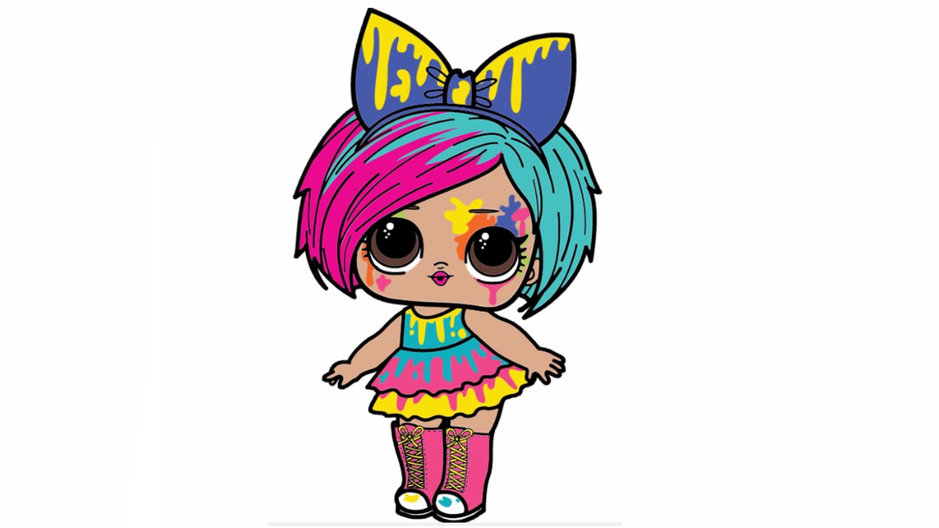 Splatters Lol Surprise Dolls Lol Dolls Doll Drawing Cute Dolls
