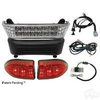 Club Car Precedent 08 5 Golf Cart W 8v Batteries Led Light Bar Kit All Club Car Precedent Light Kits Include Pl Led Light Bars Bar Lighting Battery