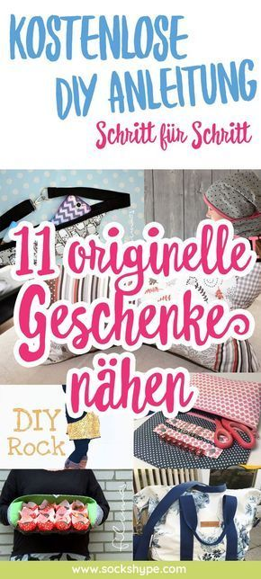 Photo of ▷ 11 originelle Geschenke nähen mit kostenlosen Anleitungen | sockshype.com