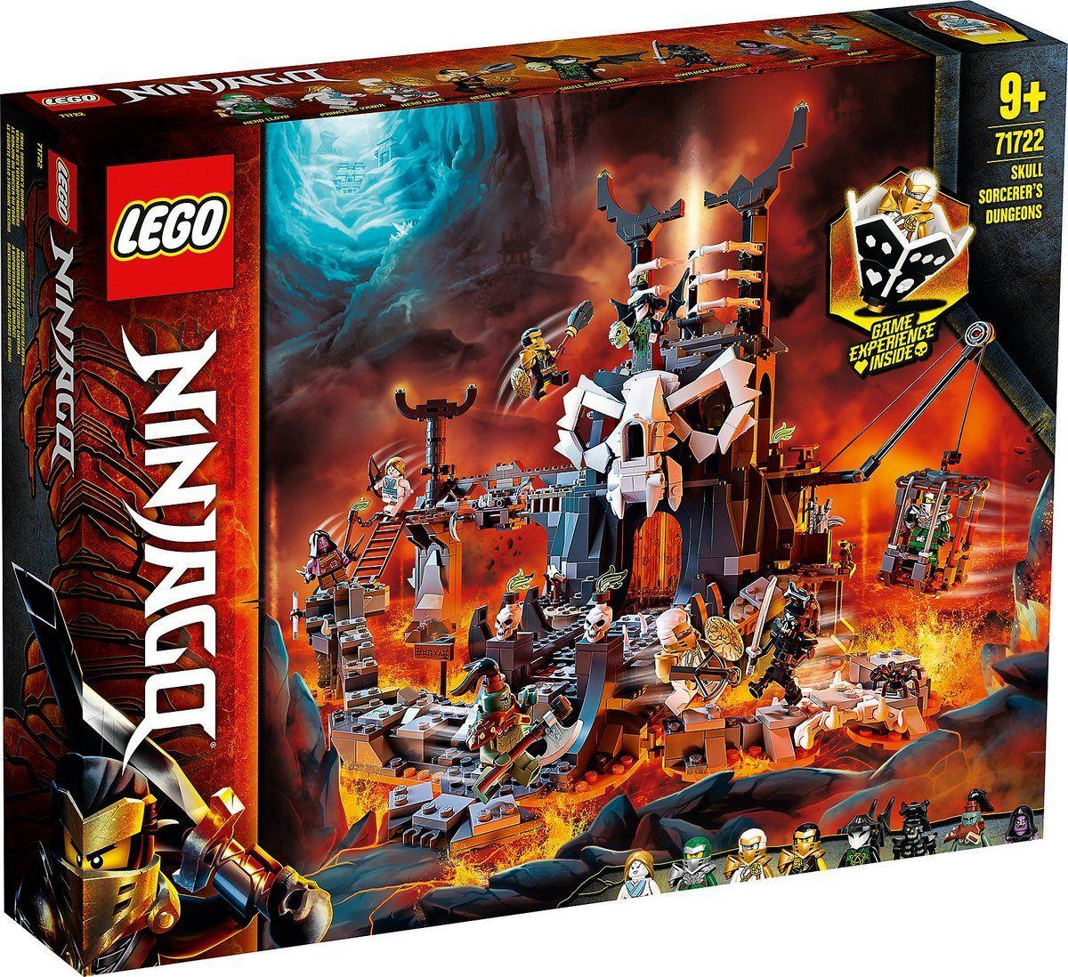 LEGO® Konstruktionsspielsteine »Verlies des Totenkopfmagiers (71722), LEGO®  NINJAGO®«, (1171 St), auch als Brettspiel verwendbar, Made in Europe online  kaufen |… | Lego ninjago figuren, Lego ninjago, Lego
