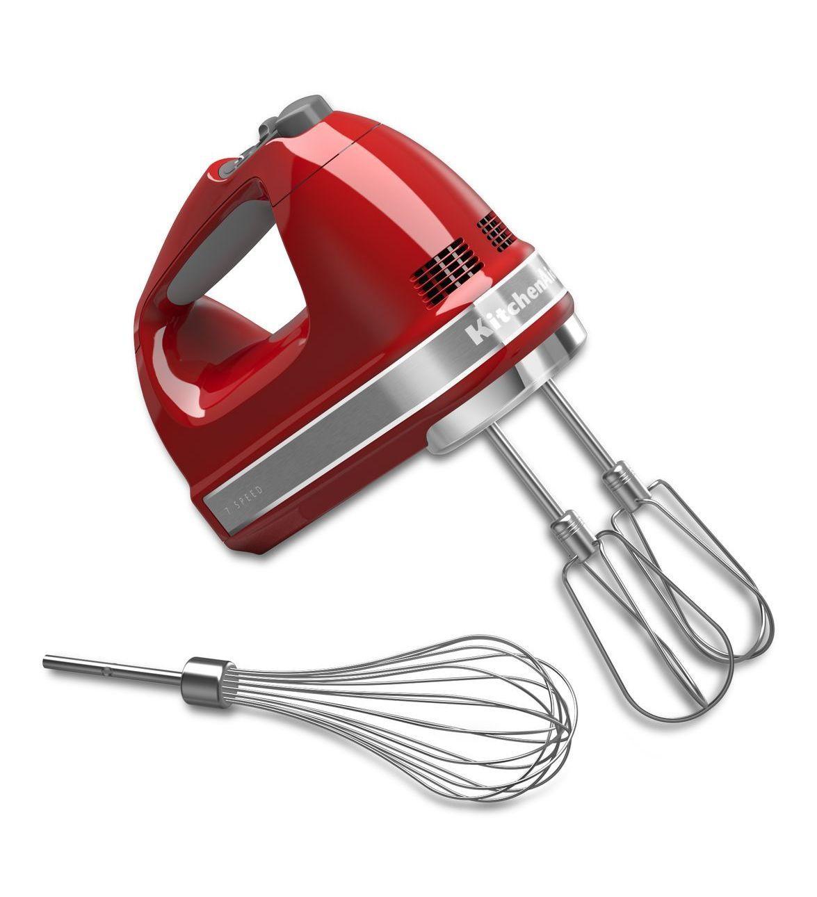 Contour Silver 7 Speed Hand Mixer Khm7210cu Kitchenaid Kitchen Aid Hand Mixer Kitchen Aid Hand Mixer