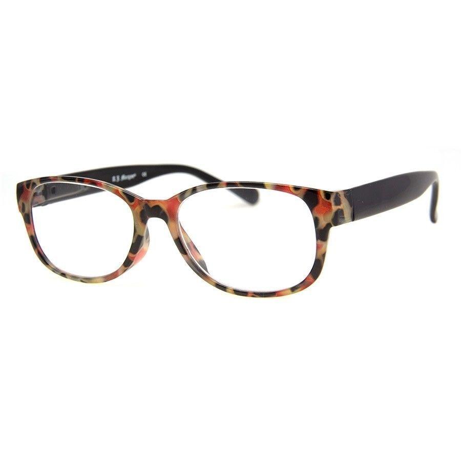 338c0acde450 AJ MORGAN Readers Reading Glasses Designer Eyewear Red Tortoise