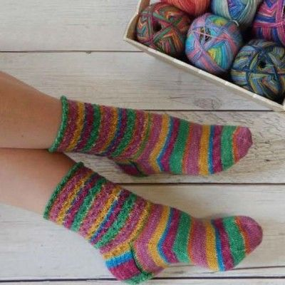 Free Lacy Sock Knitting Pattern In Stylecraft Head Over Heels Get