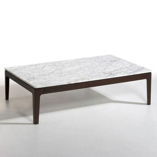 Table Basse Rectangulaire Marbre Helda Taille Taille
