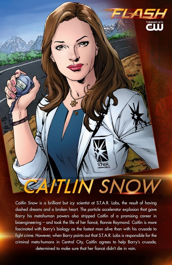 The Flash: Caitlin Snow Gets Carded | DC Comics | The ...