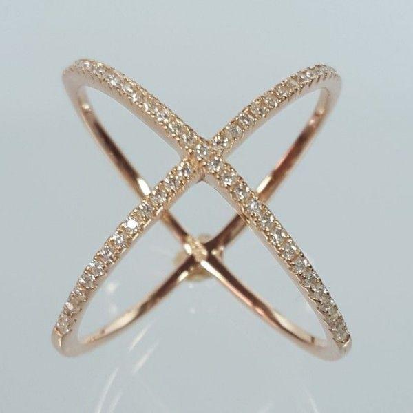 X Ring Xena Rose - Silber