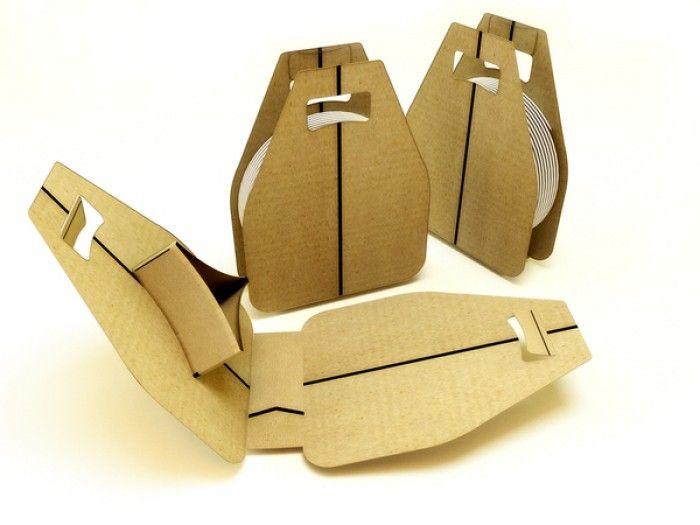 Packaging Cuando El Carton Y La Creatividad Convierten Un Producto Mucho Mas Ecologico Y Divertido Creatividad Carton Producto