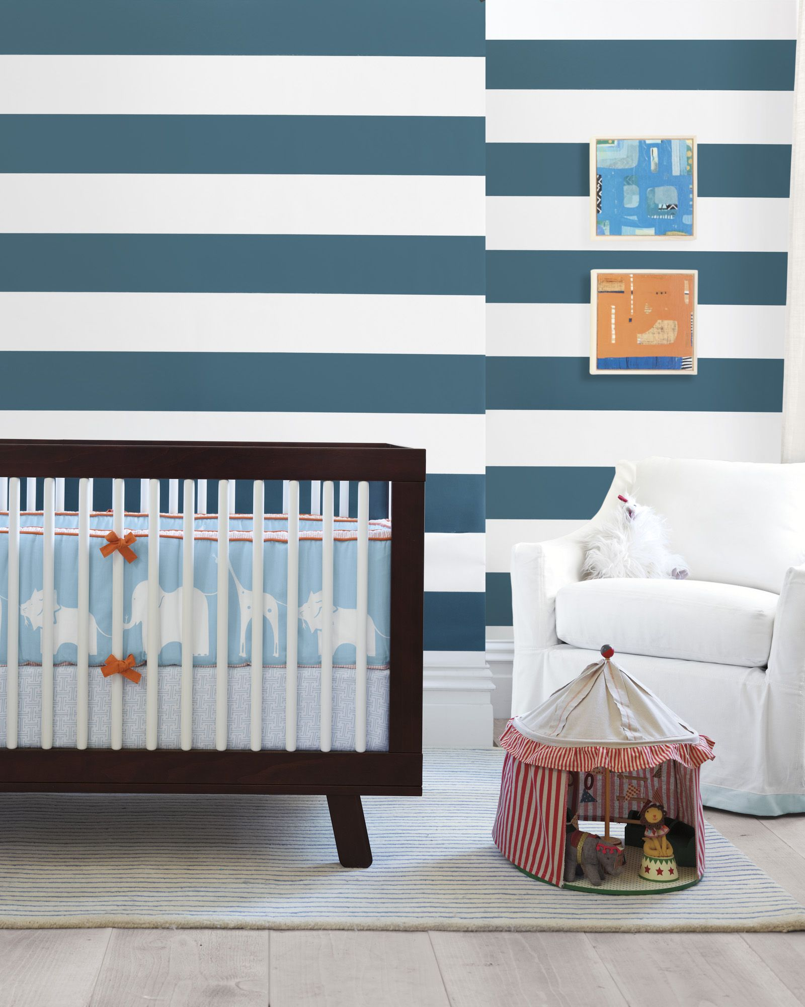Wide Stripe Wallpaper Wppr6 02 Girls Nursery Furniture Girl Nursery Bedding Baby Bed