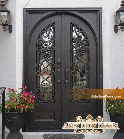Abby Iron Doors & Abby Iron Doors | Front doors | Pinterest | Iron Doors and Front doors