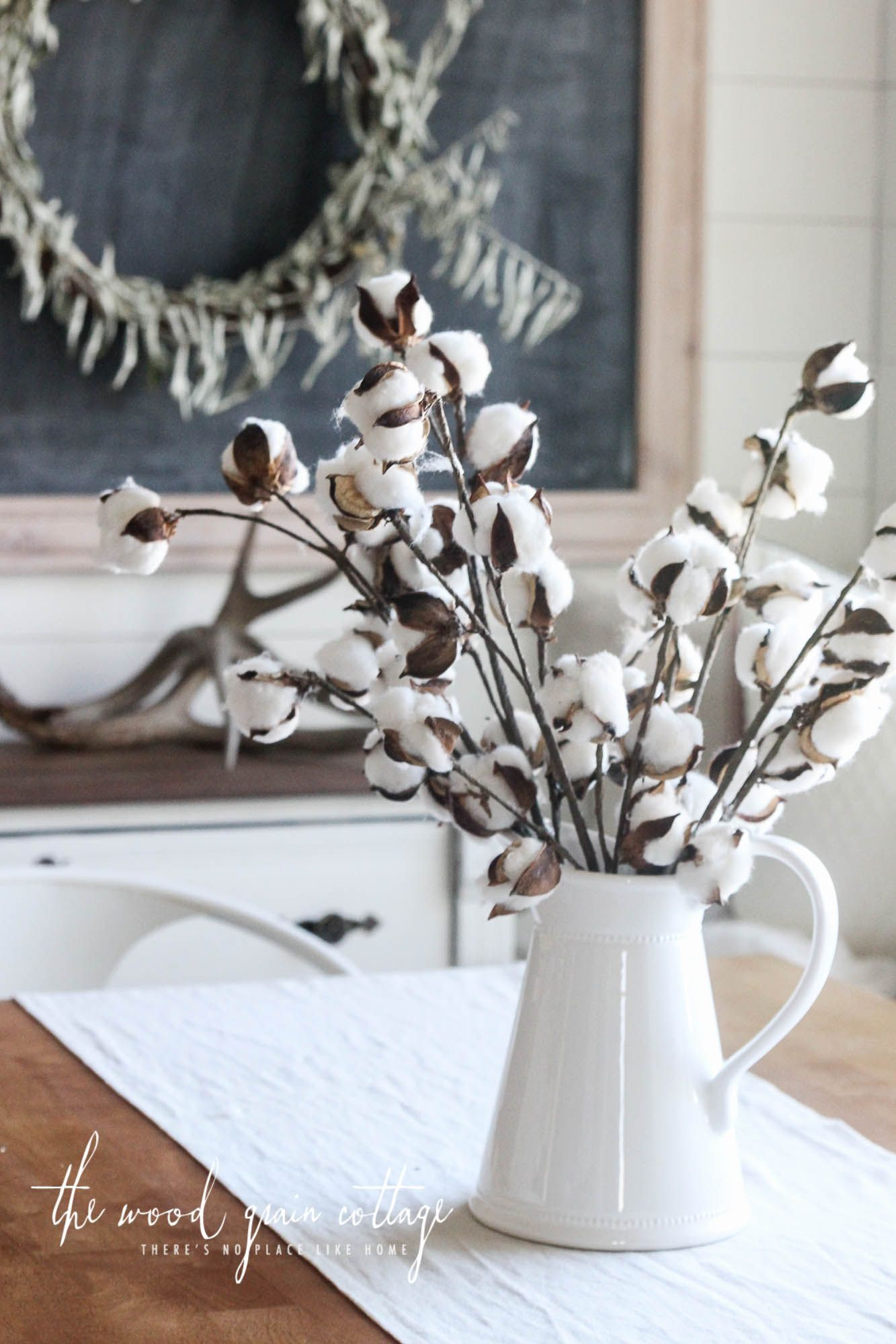 Small Cotton Stems- Set of 5