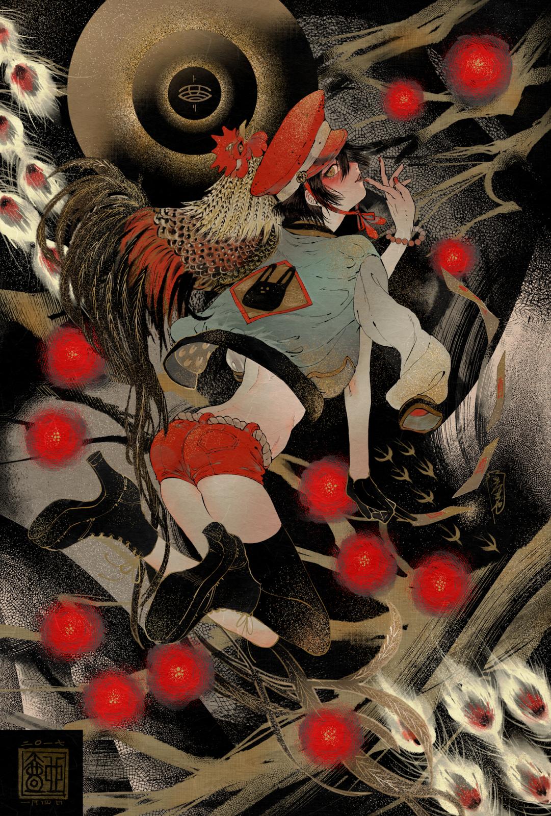 ARTIST Tsubonari 壺也 (Japan) See More Japanese Art