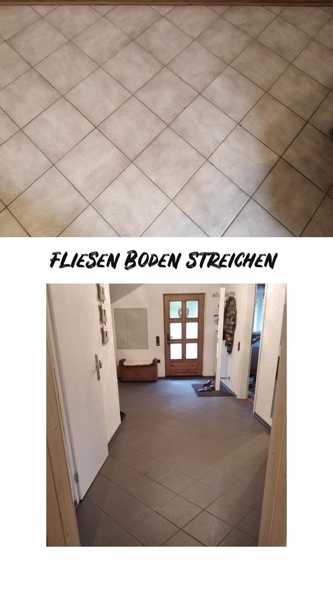 Fußboden und Fliesenboden streichen fliesenstreichen Mit unseren Lacken kannst du ganz einfach ...
