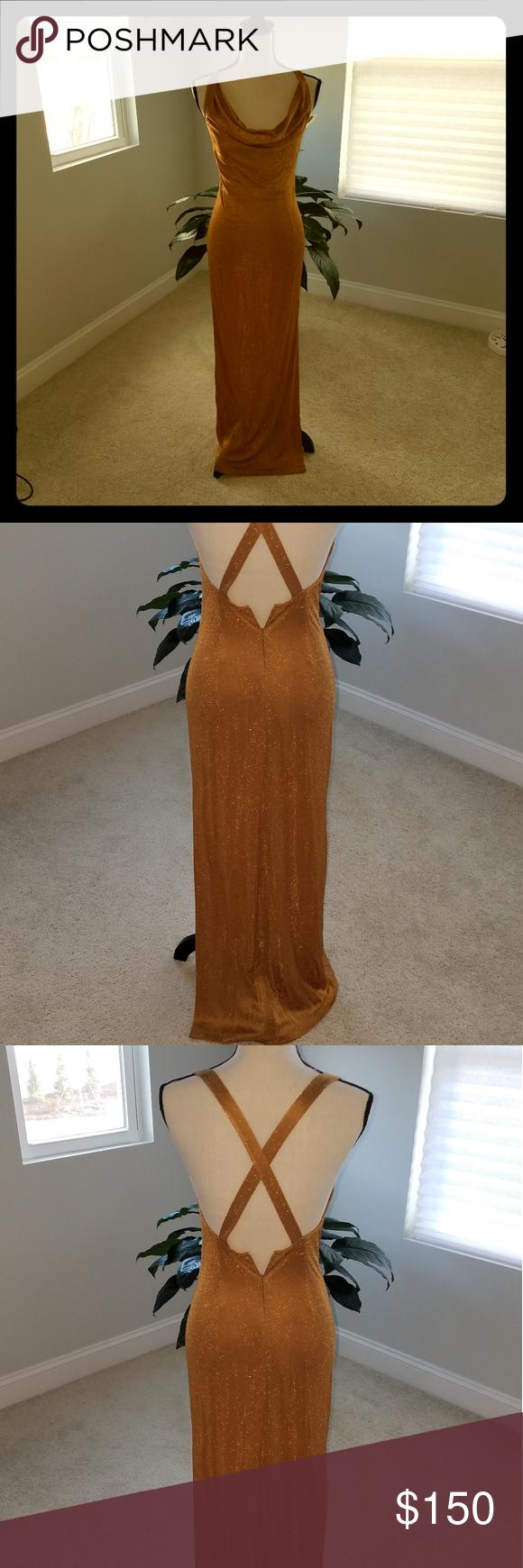 Vintage Rimini Metallic Gold Dress Metallic Gold Dress Floral Lace Maxi Dress Floral Print Maxi Dress [ 1740 x 580 Pixel ]