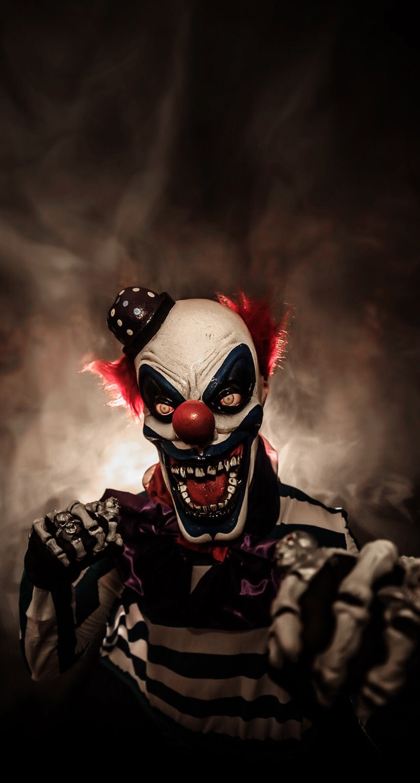 iPhone Wall Halloween tjn Scary clowns, Scary wallpaper