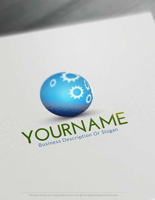 Free 3d Logo Maker Make Industrial Logo Design With Our Online 3d Logo Maker