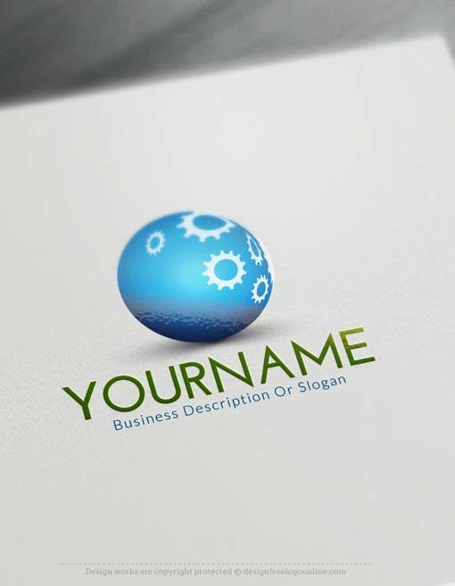 Online Free 3d Logo Maker 3d Industrial Logo Design Online Logo Design Logo Maker Industry Logo