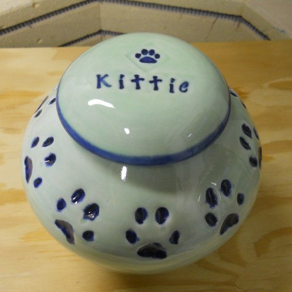Cat Paw Treat Jar from Celtic Soul