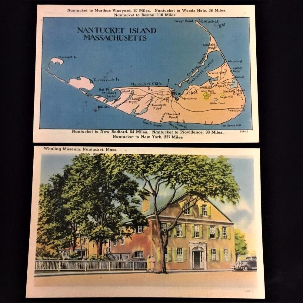 tichnor bros postcards