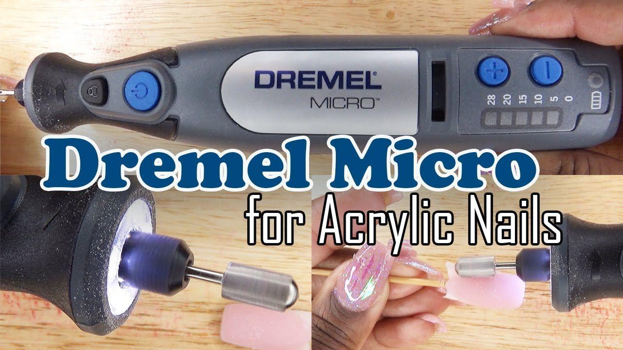 Dremel Micro 8050 for Acrylic Nails Nail Drill Review