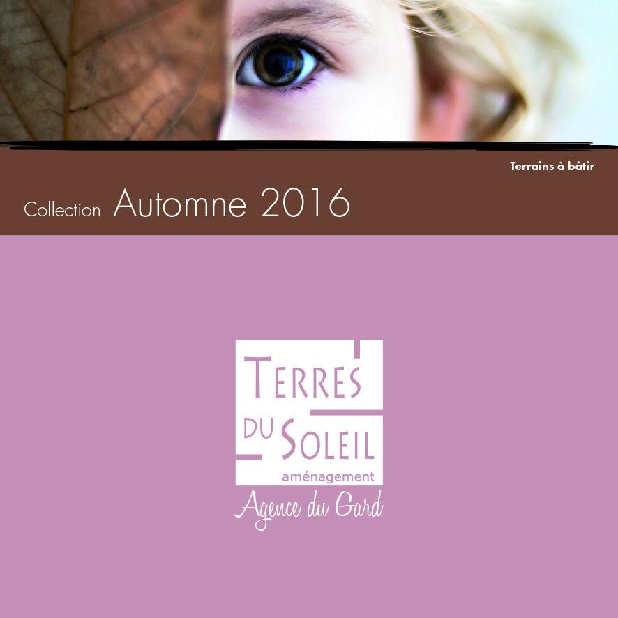 Réalisation du catalogue hiver 2016 de Terres du soleil.