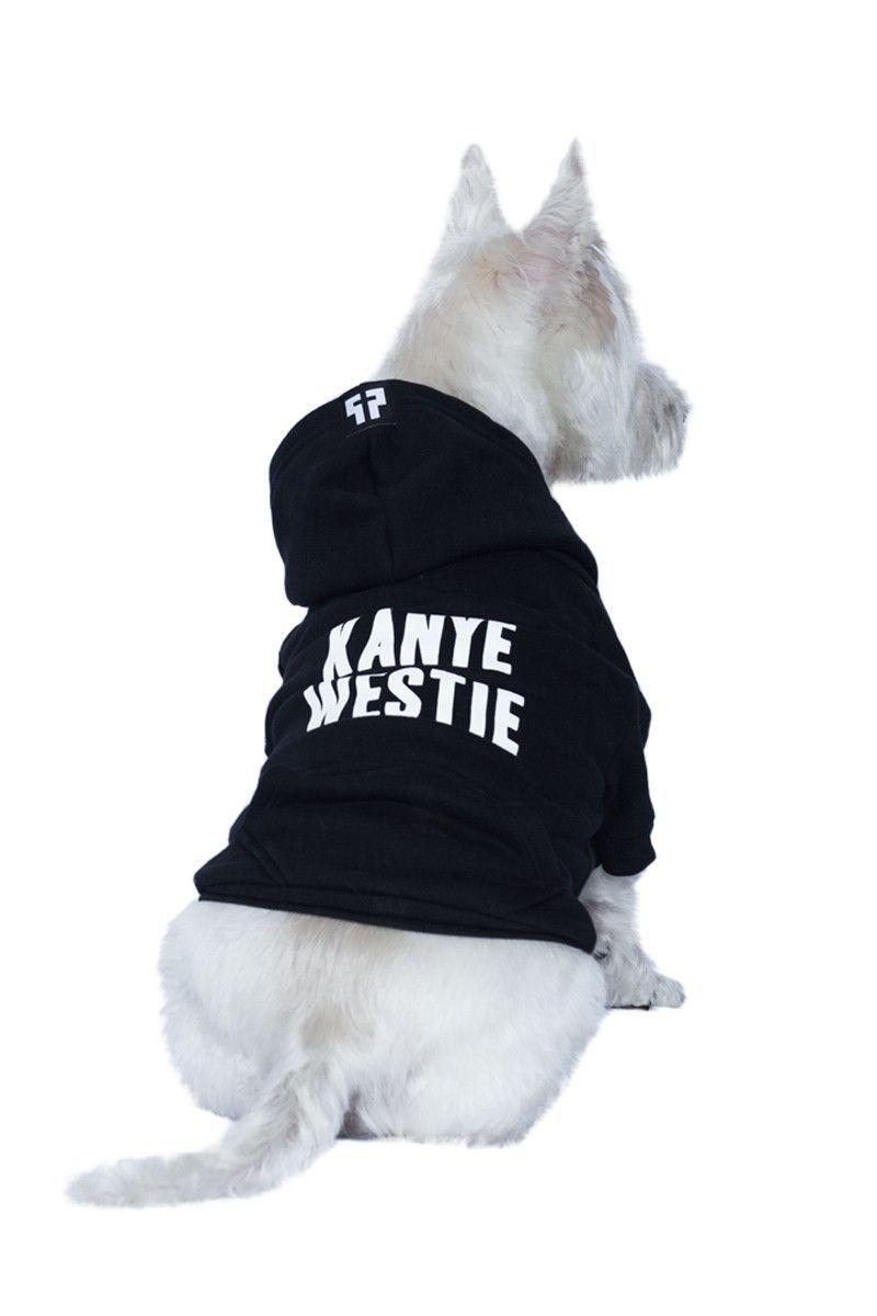 Kanye Westie Dog Zip-up Hoodie