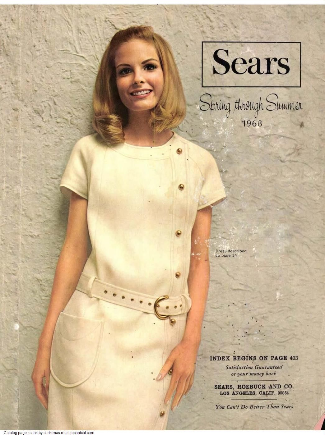 1968 Sears Spring Summer Catalog PDF in 2020 | Christmas catalogs