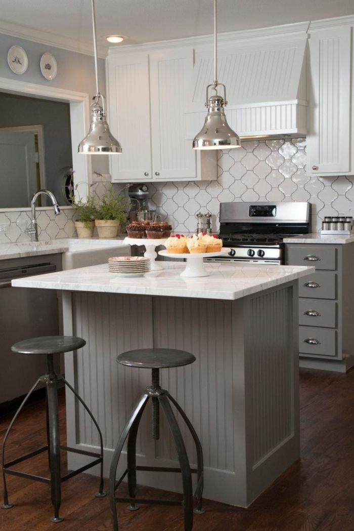 La cuisine grise, plutôt oui ou plutôt non? Kitchen Pinterest - meuble de cuisine gris anthracite
