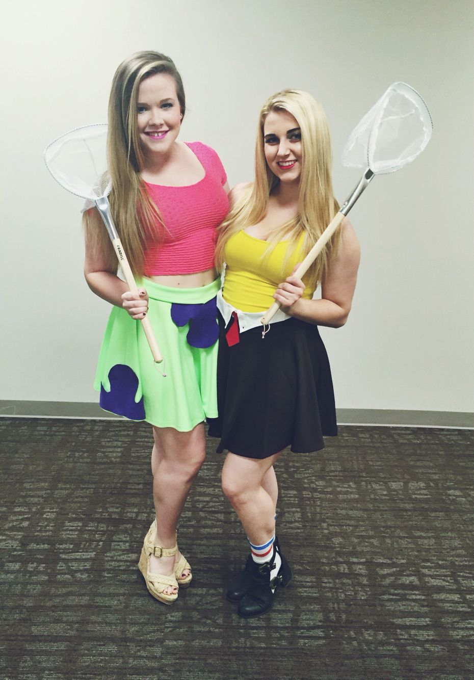 best friend Halloween costume idea. spongebob and Patrick  sc 1 st  Pinterest & best friend Halloween costume idea. spongebob and Patrick | C.H. ...