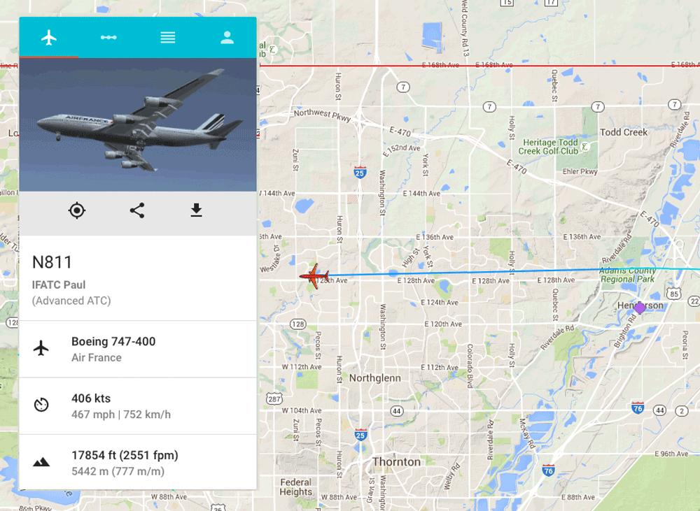 LiveFlight is the ultimate flight tracker for Infinite
