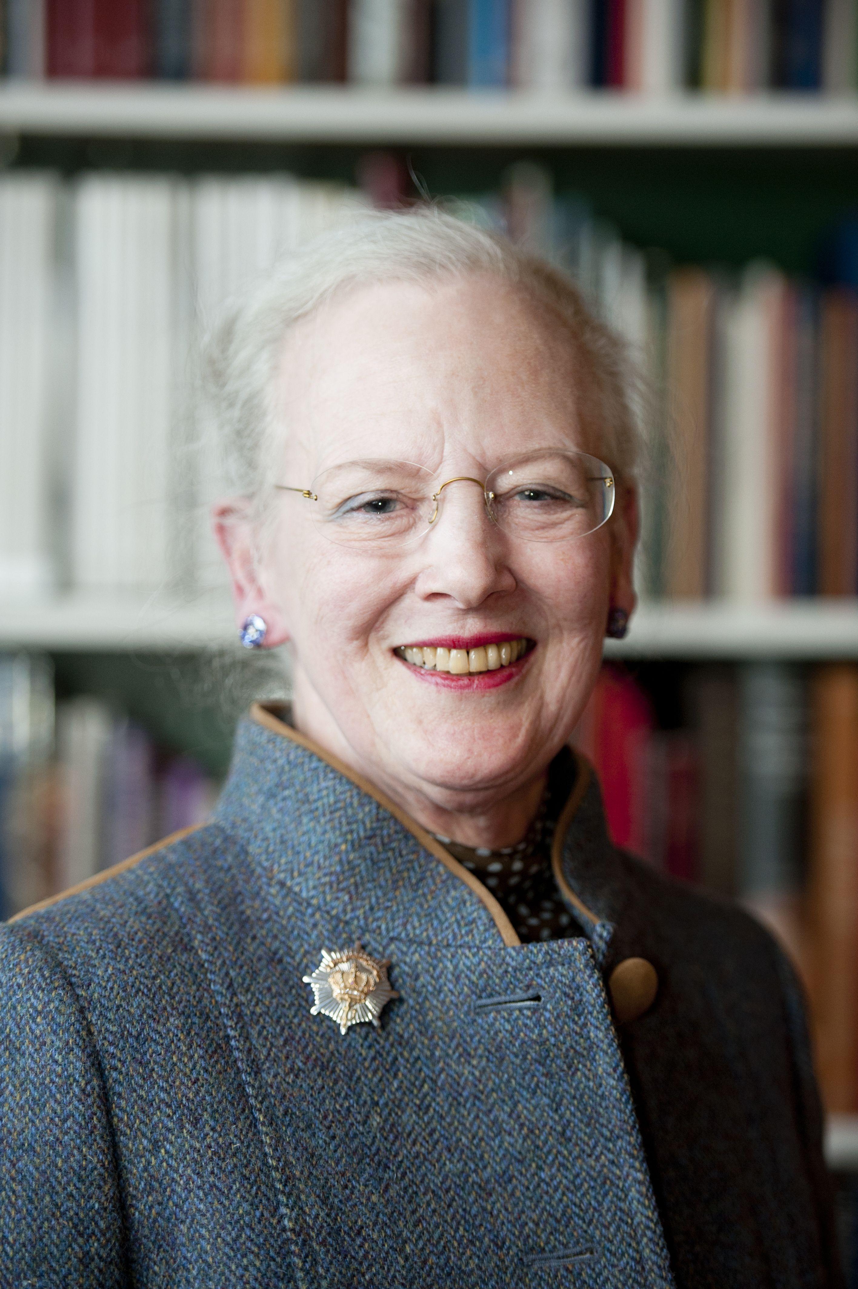 Queen Margarethe II Denmark...