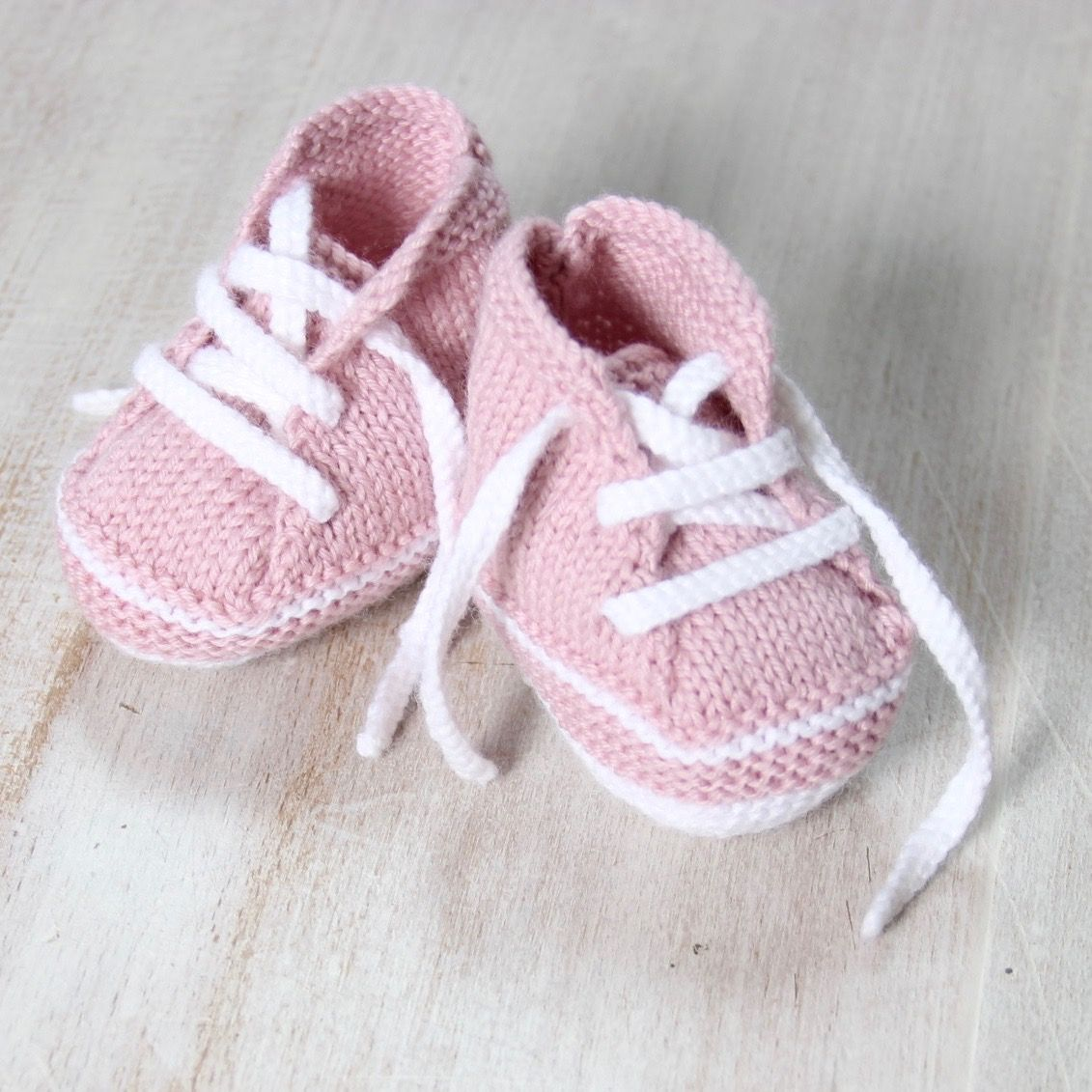 Baby Sneakers / Knitting Pattern Baby Instructions in French Instant ...