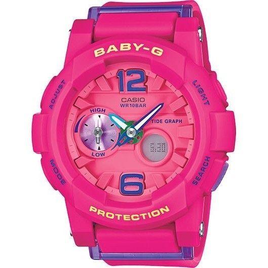 Casio Baby-g BGA180-4B3 Pink Pink Analog Quartz Women s Watch ... 37583d2dec