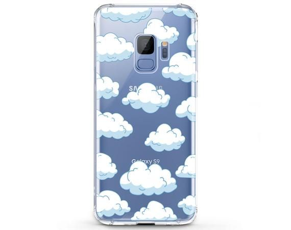 Clouds pattern Samsung S10 Plus Sky phone case Note 10 Plus 5G | Etsy