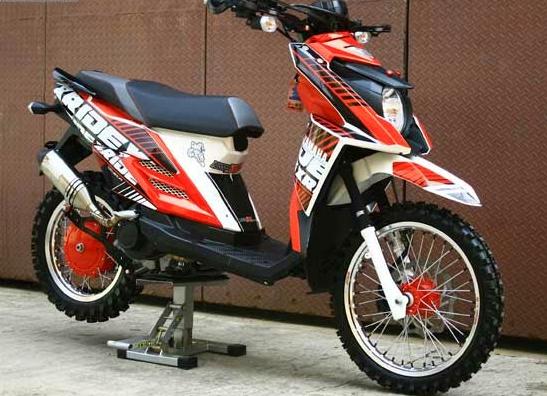 Modifikasi Yamaha X Ride 125 Touring Desain Yamaha Touring