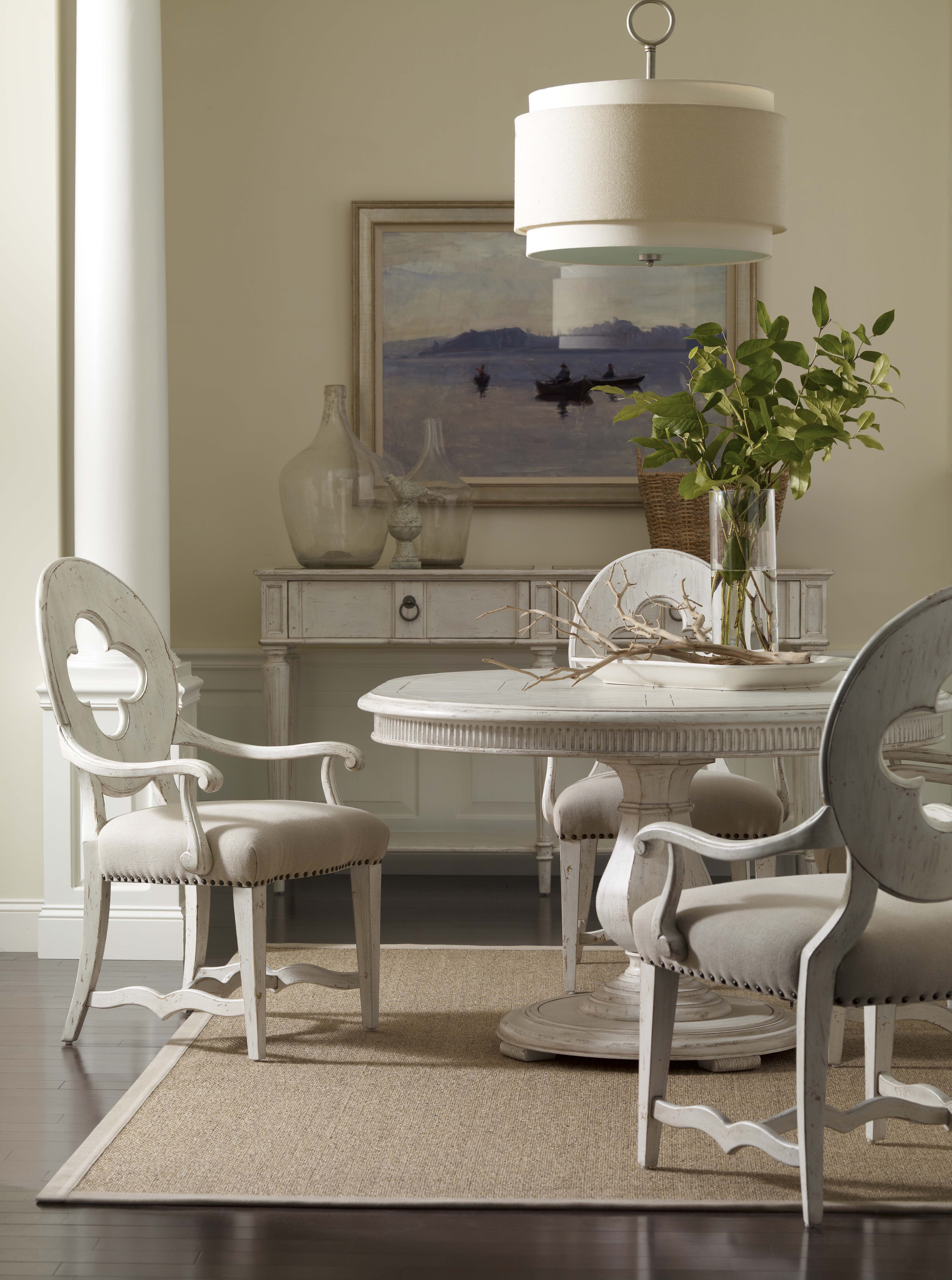 collection one keaton round dining table with the drake arm chair, Esstisch ideennn