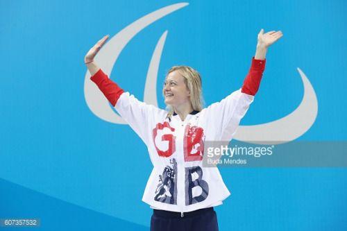 RIO DE JANEIRO, BRAZIL - SEPTEMBER 17: Gold medalist Hannah... #greatfransham: RIO DE JANEIRO, BRAZIL - SEPTEMBER 17: Gold… #greatfransham